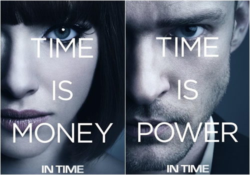 Movie Posters 2011: IN TIME (2011) Movie Review