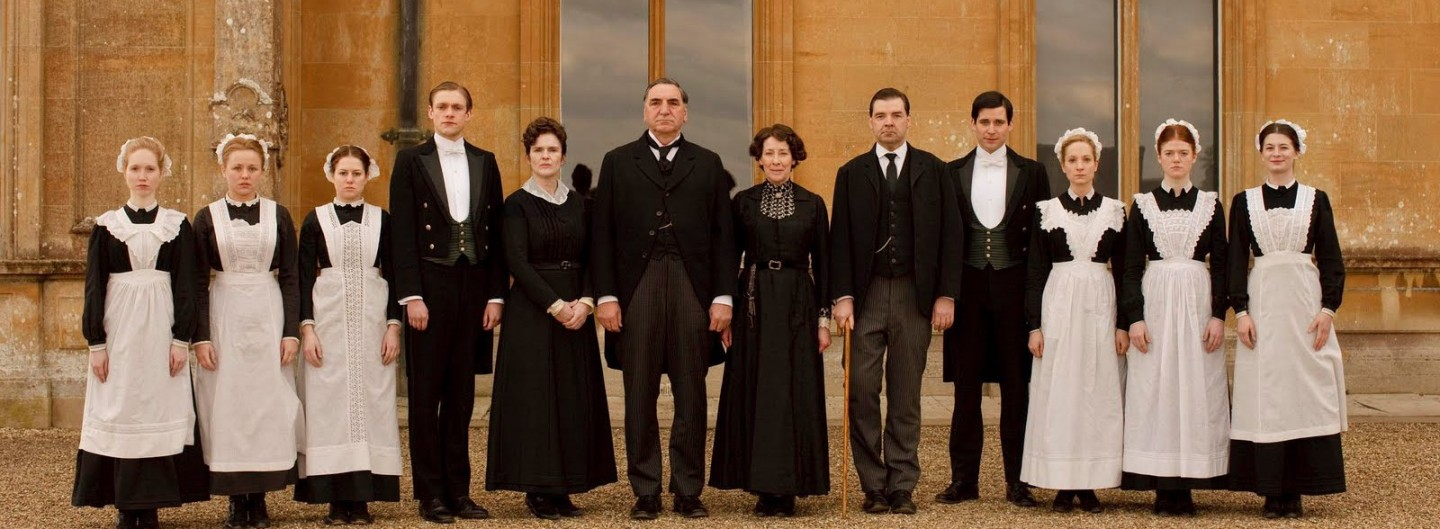 DOWNTON ABBEY – – TV Series (2010-2012)