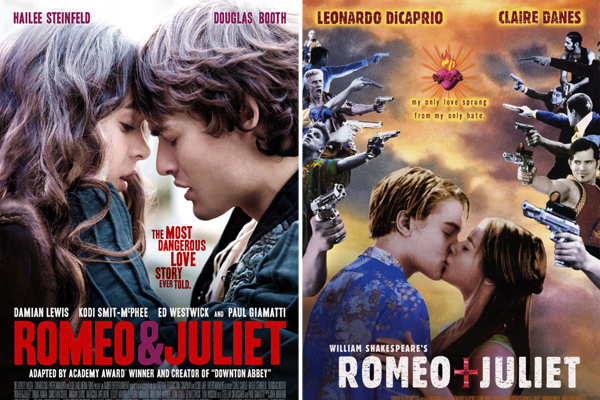 romeo and juliet movie review Plot: romeo and juliet, two teenagers at opposite sides of forever dueling families, fall in love at first sight it doesn't end well review: car.