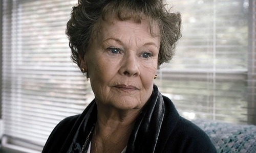 Catholic guilt … Judi Dench in Philomena.