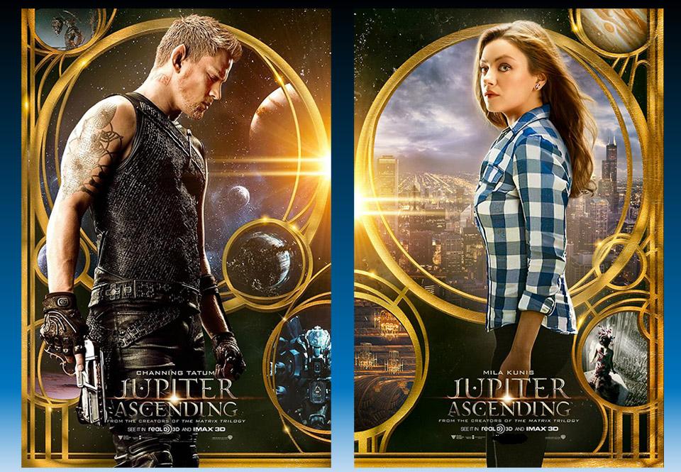 Jupiter Ascending 2015 Movie Review Splatter On Film