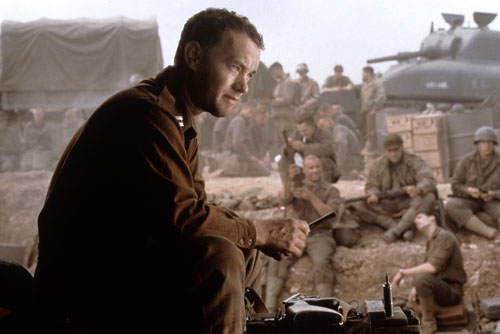 The 1998 Best Picture nominee ÒSaving Private RyanÓ will be screened as the next feature in the Academy of Motion Picture Arts and SciencesÕ ÒGreat To Be NominatedÓ series on Monday, June 9, at 7:30 p.m. at the AcademyÕs Samuel Goldwyn Theater. Pictured here: Tom Hanks in a scene from SAVING PRIVATE RYAN, 1998.