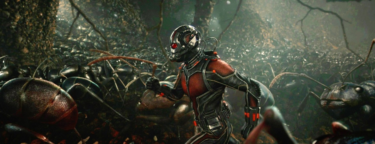ANT MAN (2015) movie review