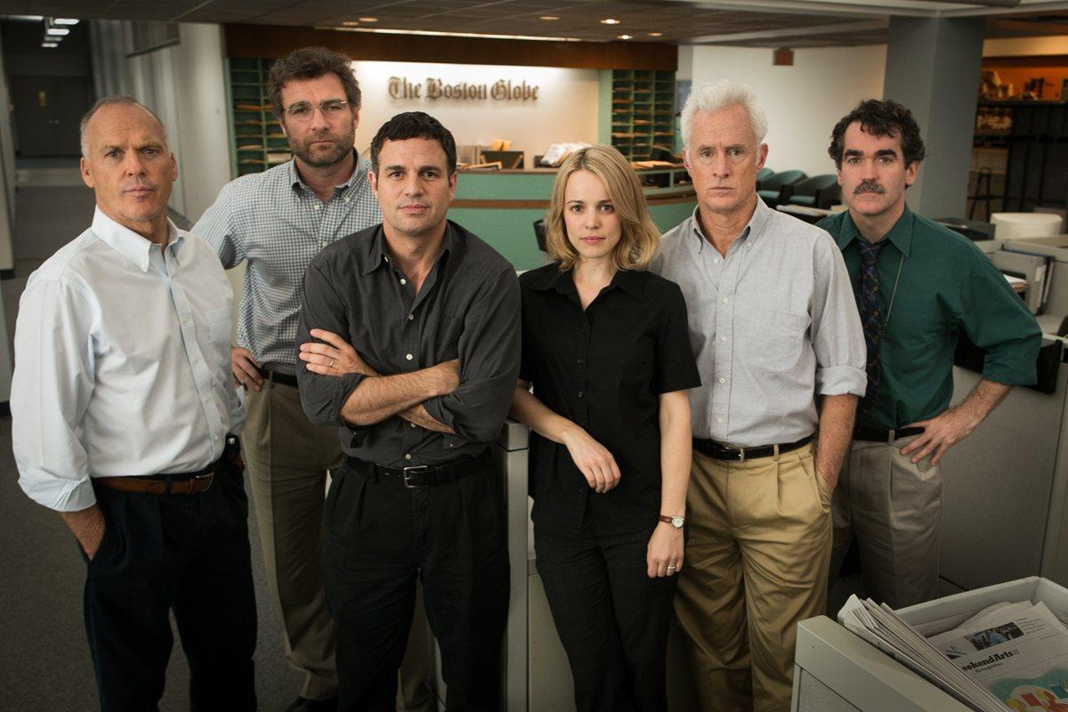 SPOTLIGHT (2015) movie review