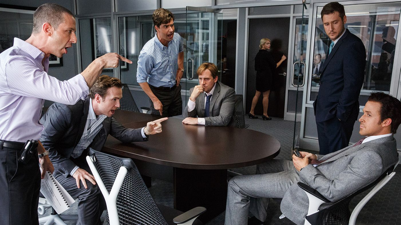 THE BIG SHORT  (2016) movie review